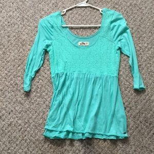 Lacey front Hollister blouse